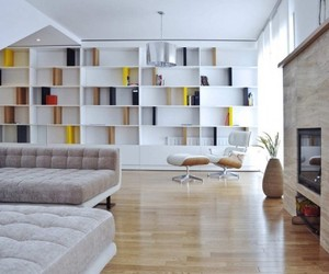 10 Beautiful Custom Bookcases