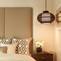 Collection of Bedside Light Fixtures and Lamps
