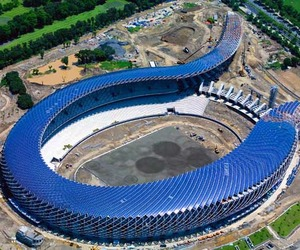 100% Solar Powered Stadium in Taiwan