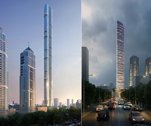 116 Story Wind Confusing Imperial Tower Skyscraper in Mumbai