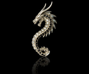 12 Handcrafted Dragons