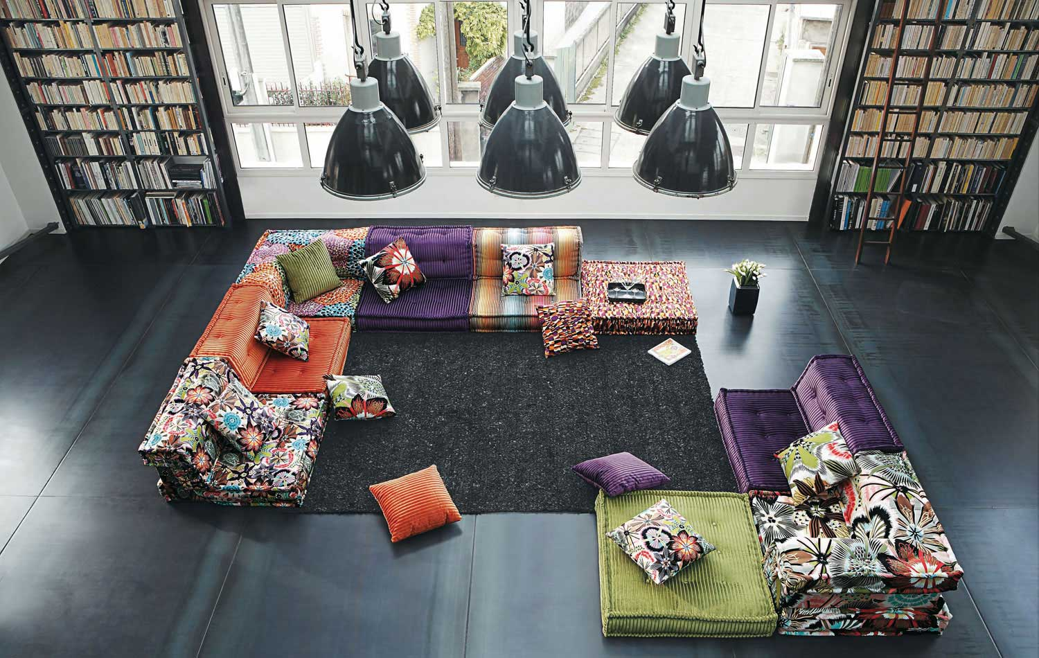 120 Modern Sofas by Roche Bobois (Part 1/3)