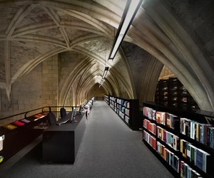 13th Century Church Transformed into Bookstore