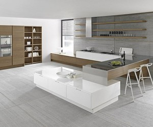 14 Gorgeous Contemporary Kitchens