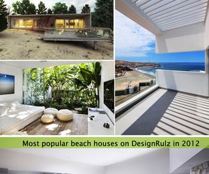 15 Most Popular Beach Houses in 2012