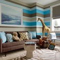 Inspirational Design Ideas + Color Schemes for Boys' Rooms