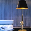 18K Gold Gun Lamp by Philippe Starck