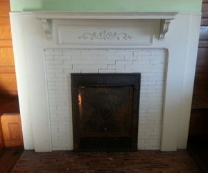 1900's Queen Anne Style Mantle, Reclaimed
