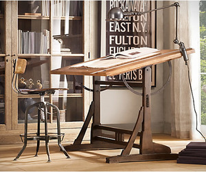 1920´s French Drafting Table Repro