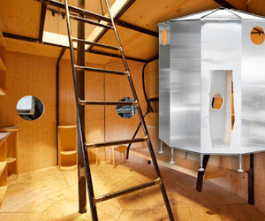 1938 Prefab Mountain Pod Is Reconstructed by Cassina