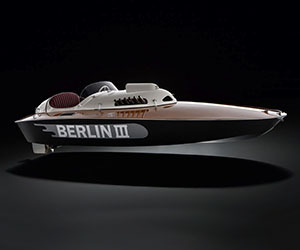 1950 BMW Berlin III Speedboat