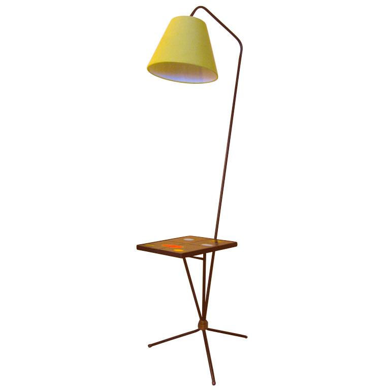 1950s Floor Lamp By Pierre Guariche
