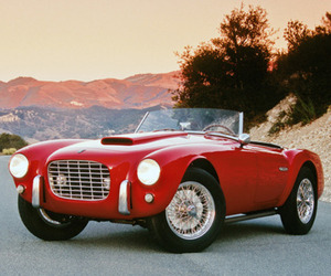 1953 Siata 208/S Spider owned By Steve McQueen