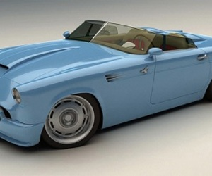 1955 Ford Thunderbird Concept