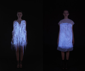 2 Gaze-Activated Dresses by Ying Gao