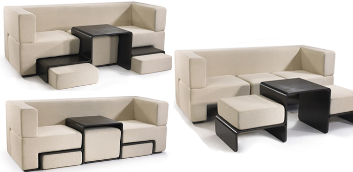 Slot Sofa Seating And Table In One