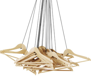 20 Hangers Wardrobe by Alice Rosignoli