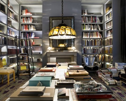 20 home library design examples - Books on home design ...