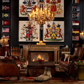 Eclectic-Vintage Room Designs by Timothy Oulton
