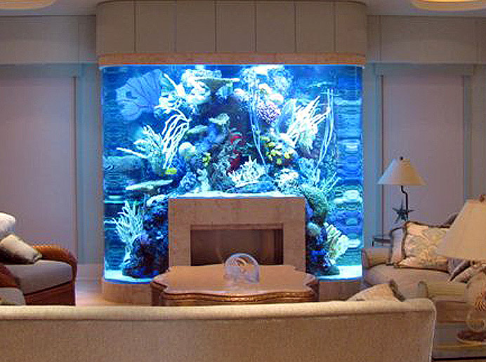 20 Unusual Places For Aquariums In Your Home  Awesome Aquarium Bedroom  Interior Design photho for. Bedroom Fish Tank