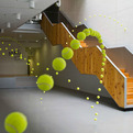 2000 Tennis Balls by Ana Soler