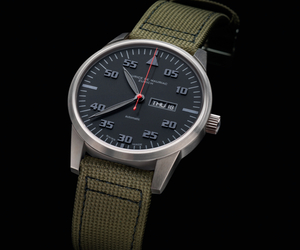 2012 Modern Chronograph by Maurice de Mauriac