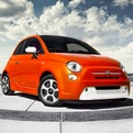 2013 Fiat 500e Electric Car