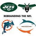 21 NFL Logos Redesigned by Matt McInerney
