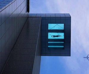 24th Story Glass Bottom Swimming Pool at Holiday Inn