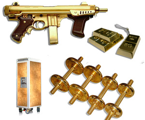 26 Unusual Gold-Plated Items