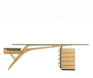 2690 Cavour Desk by Carlo Mollino, 1949