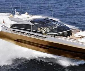 £3 billion Gold Yacht
