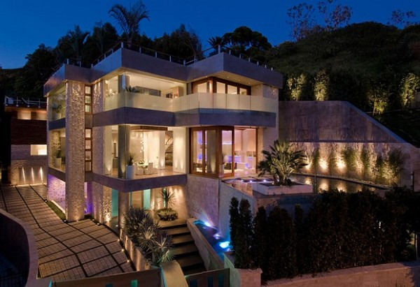 3 story contemporary residence in los angeles by ben bacal - 5 bedroom house for sale los angeles ...