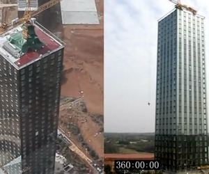 30-Story Building Built in 15 Days