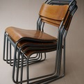 33no. Stacking Ply Chairs