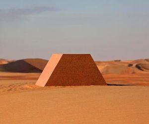 $340 Million Oil Barrel Pyramid In Abu Dhabi