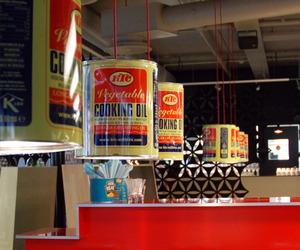 Recycled Oil Drum Lights for Helsinki Restaurant