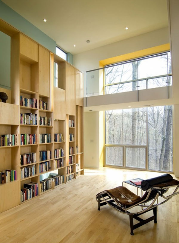 Home Library Design Ideas Delectable With Collection of Home Library Design Ideas Photos
