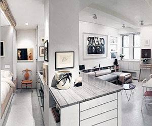 375 sq ft Greenwich Village Studio by Suchi Reddy
