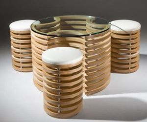 3D Coffee Table Round