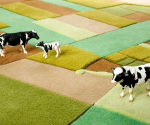 3D Farmville Carpet: ornate oriental carpet