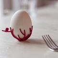 3D Printed Birdsnest Eggcup by Studio Gijs