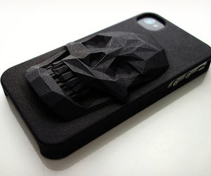 3D Printed Skull iPhone 5 Case