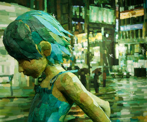 3D Sculptures Combined With 2D Painting by Ohata