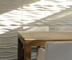 3d wall paper made out of eco-friendly plant fibre