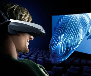 3D Wearable Movie Viewer by Sony