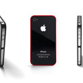 4-4: minimal case for iPhone 4