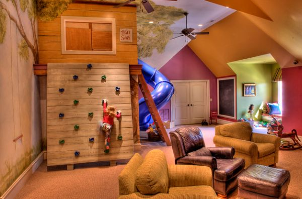 7 Inspiring Kid Room Color Options For Your Little Ones: 40 Kids Playroom Design Ideas