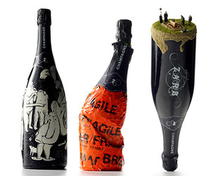 43 Bizarre Bottles of Bubbly. Zarb Champagne Bottles.
