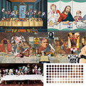 45 New Interpretations of The Last Supper for 2013